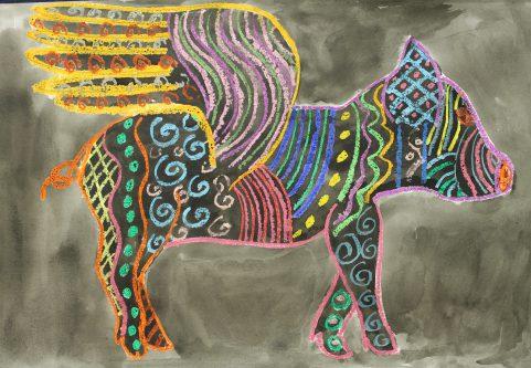 by Ava Chevalier, Grade 6